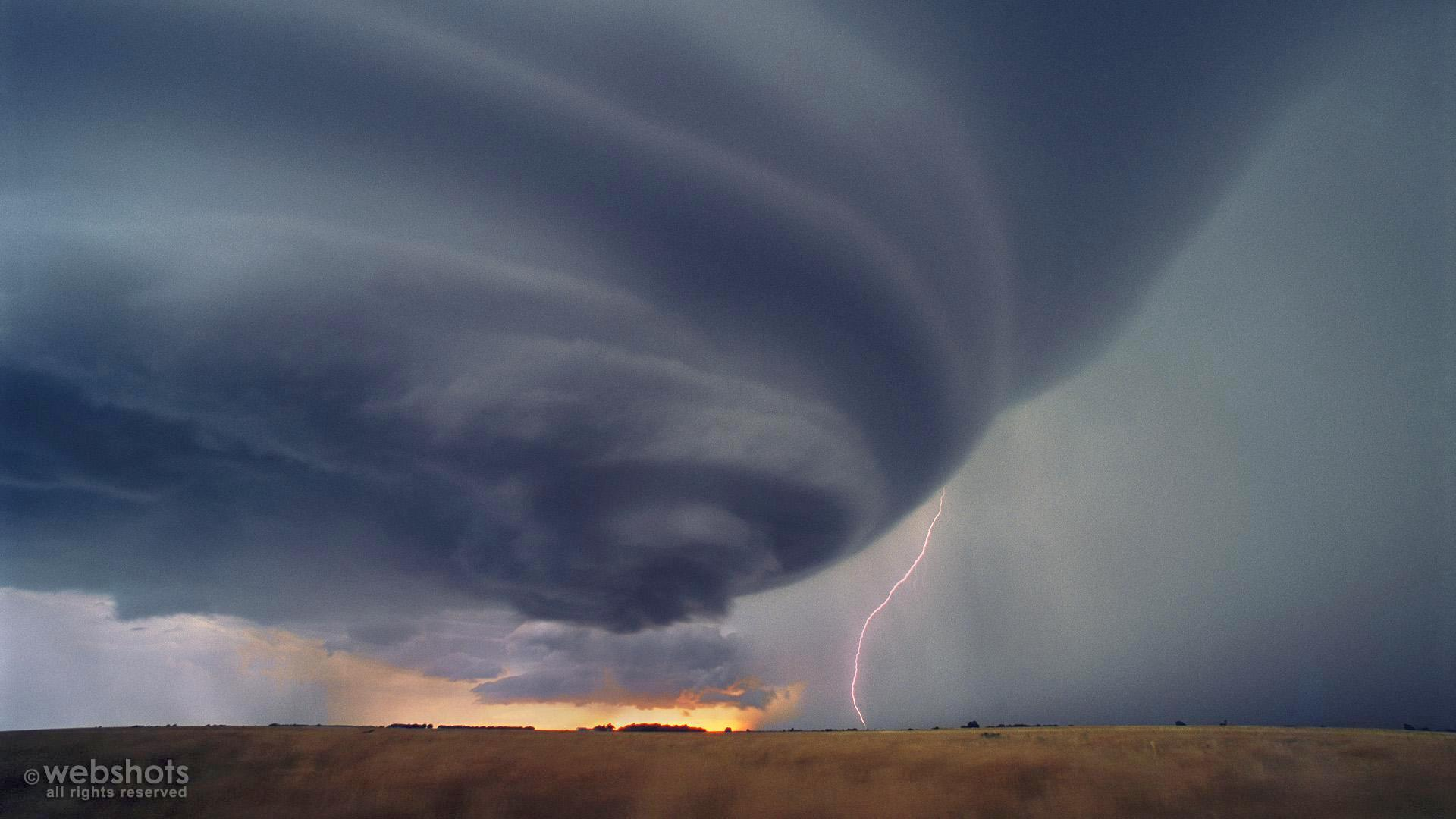 Supercell Thunderstorm Kansas